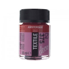 ΧΡΩΜΑ AMSTERDAM TEXTILE 375  BORDEAUX 16ML